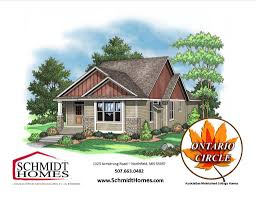 Cottage Homes by Ontario Circle Schmidt Homes