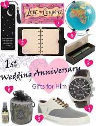 1st anniversary gift for him 25 paper anniversary gift ideas for him s