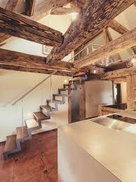 Wohnzimmer Modern Loft Uncategorized Kühles Modern Und Rustikal Mit Treppenhaus Und