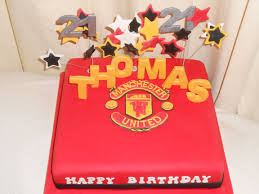 manchester united 21st cake u2013 u0027s occasional cakes