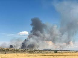 Wildfire Today Montana by Wildfire Burning Outside Glendive Ktvq Com Q2 Continuous