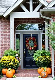 Outdoor Decorating Ideas by Outdoor Fall Decorating Ideas Dimples And Tangles