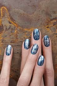 149 best nail art metallic u0026 foils images on pinterest nailart