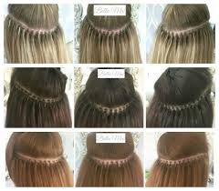 Keratin Tipped Hair Extensions by Nano Ring Hair Extensions Beauty Pinterest Hair Extensions