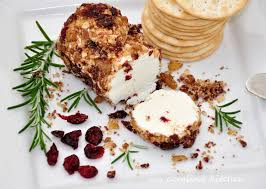 Cranberry Island Kitchen My Carolina Kitchen Spicy Cranberry Goat Cheese Log