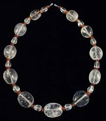 rock crystal necklace jewelry images Ancient touch necklaces beads of antiquity medieval times jpg