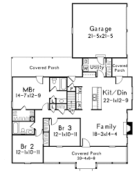 Floor Plans With Porches by Mayland Country Style Home Plan 001d 0031 House Plans And More