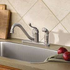 moen muirfield kitchen faucet muirfield spot resist stainless 1 handle kitchen faucet ca87524srs
