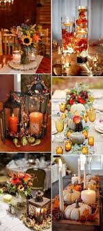 best 25 fall candle centerpieces ideas on fall table