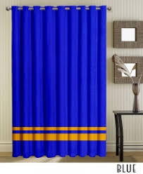 Gold Striped Curtains Gold Striped Brown Grommet Curtains