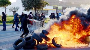 unfiltered french winemakers cap peaceful protest by smashing