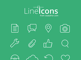 design lines font 50 free flat and gorgeous icon sets for the modern designer