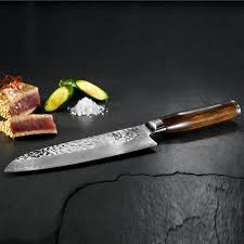 Shun Kitchen Knives by Kai Shun Premier Tim Mälzer Series Santoku Knife 14cm