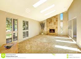 bedroom pleasant living room vaulted ceilings stock photo floor