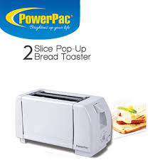 Easy Clean Toaster Qoo10 Powerpac 2 Slice Pop Up Bread Toaster Ppt02 Easy To