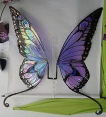 Blue Butterfly Halloween Costume Blue Butterfly Wings Handmade Holidays Gift Giving