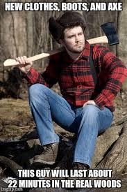 Axe Meme - solemn lumberjack meme imgflip