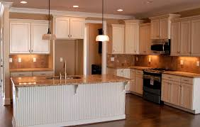 kitchen backsplash ideas white cabinets brown countertop