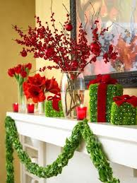 Cubicle Decoration Themes For Christmas And New Year by 50 Gorgeous Holiday Mantel Decorating Ideas Midwest Living