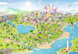 city map bricks heartlake city maps the years