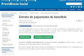 www previdencia gov br extrato de pagamento contracheque do 13º está liberado o dia economia