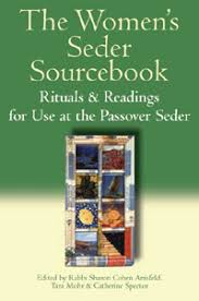 passover seder book the women s passover companion the women s seder sourcebook
