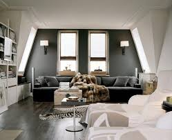 dark gray wall color home design