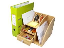file holder for desk woodquail bamboo desktop file holder stationery organiser desk