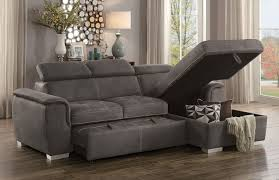 Sectional Sofa With Storage Gemma Modern Sectional Sofa