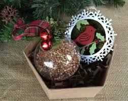 woodland ornament etsy