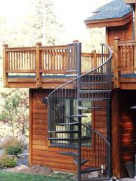 Fer Forge Stairs Design Fer Forge Stairs Design With 20 Amazing Decks With Spiral