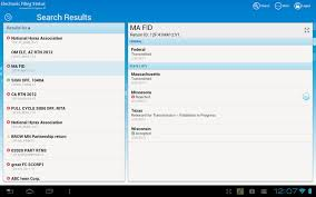 e file status android apps on google play