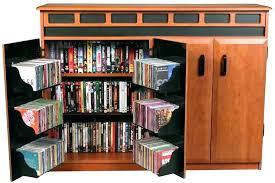 Oak Cd Storage Cabinet Wooden Cd Storage Cabinets Wood Storage Cabinets With Glass Doors
