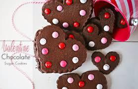 valentines chocolate chocolate sugar cookies kleinworth co