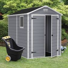keter manor 6 x 8 ft storage shed hayneedle