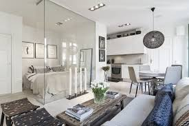 interior glass walls for homes scandinavian strikes again gorgeous flat with glass wall