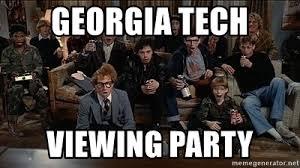 Revenge Of The Nerds Meme - georgia tech viewing party revenge of the nerds watch creepy