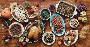 thanksgiving meals scheduled our weekly black news and