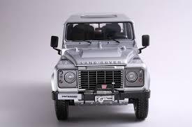 new land rover defender 2013 new 1 18 kyosho car model land rover defender 90 indus silver