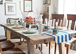 Reclaimed Wood Dining Room Furniture 10 Ways To Build Your Own Dining Room Table