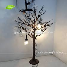 gnw wtr016 artificial tree without leaves gold branches for