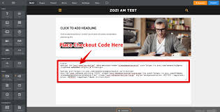 how do i add the checkout flow code to my website u2013 zozi advance