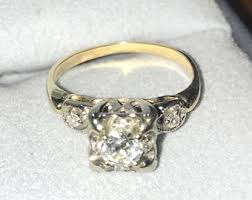 grandmothers ring 14 years married etsy