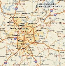 map of atlanta metro area atlanta test equipment and instrument calibration and repair