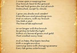 send you the tree of poem and the it s meaning