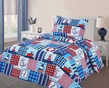 Nautical Twin Comforter Nautical Kids Bedding Ebay