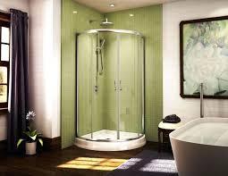 Shower Stall Doors Corner Shower Stalls For Small Bathrooms Image Of Corner Shower