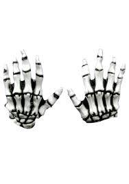 Halloween Skeleton Hand by Kids Halloween Gloves