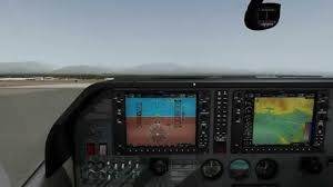 carenado ct182t skylane g1000 full flight vfr in x plane 10 on