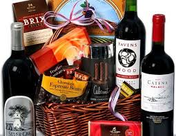 wine and chocolate gift baskets gift ideas for realtors representing home buyers real estate